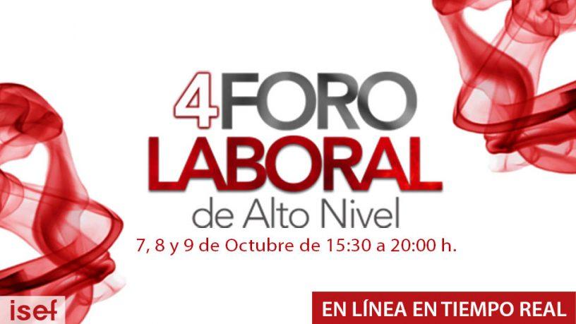 4° FORO LABORAL DE ALTO NIVEL
