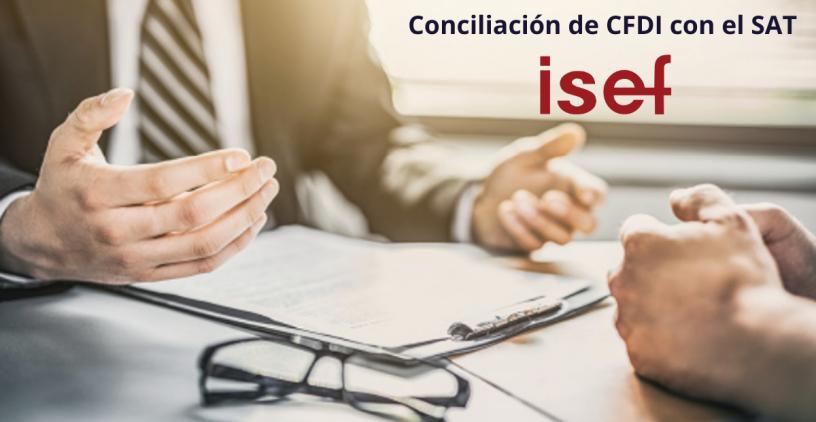 Conciliación de CFDI con el SAT ISEF