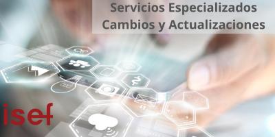 Servicios Especializados - Cambios y Actualizaciones